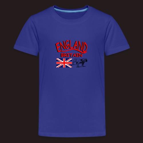 England - Teenager Premium T-Shirt