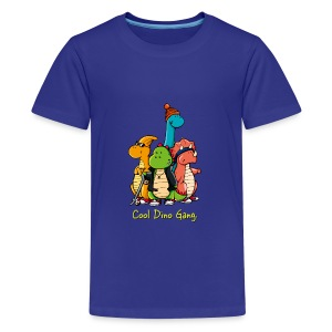 Coole Dino Gang - Teenager Premium T-Shirt