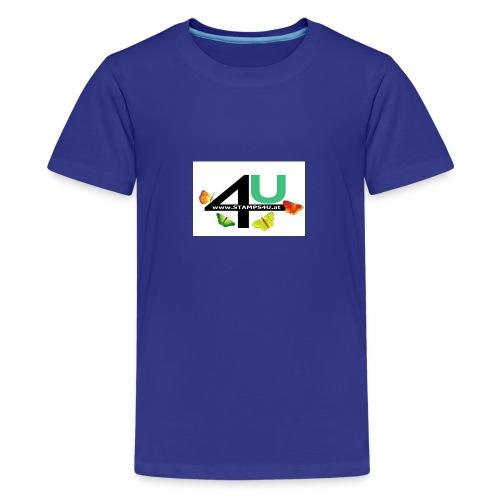 LOGO STAMPS4U - Teenager Premium T-Shirt