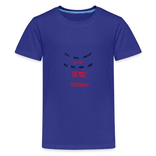 Ich bin nicht klein - Teenager Premium T-Shirt