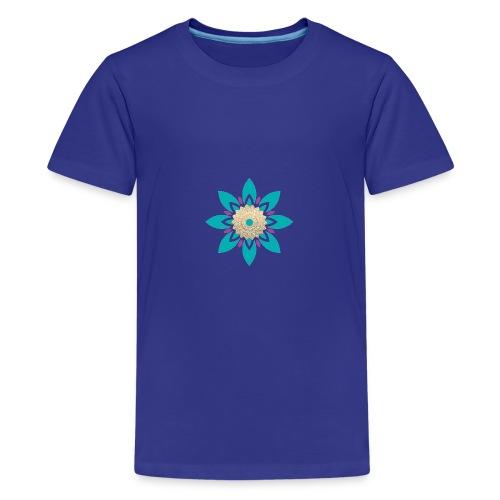 Flower of Love - Teenager Premium T-shirt