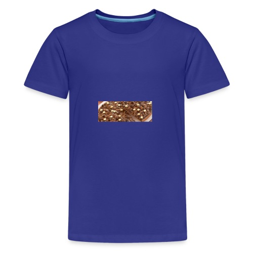 Schokoladen_Pizza - Teenager Premium T-Shirt