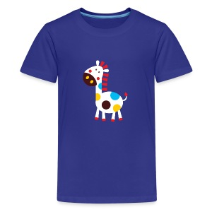 Cutie Horse - Teenage Premium T-Shirt