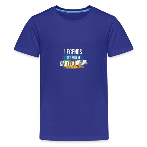 Legends are born in kabylifornian - T-shirt Premium Ado