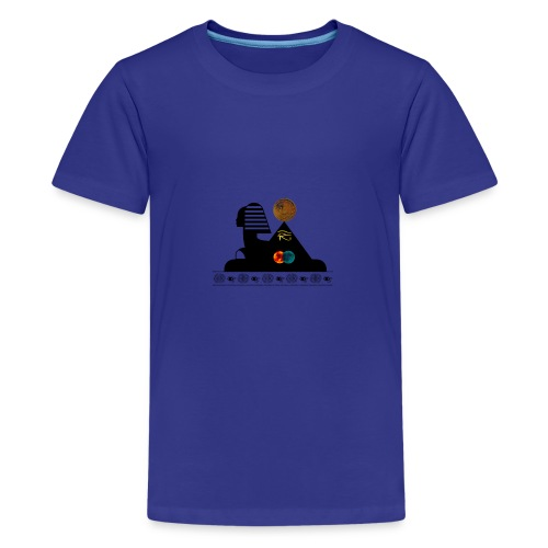 Sphynx Bitcoin - T-shirt Premium Ado
