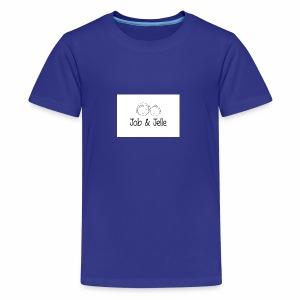 Job & Jelle | Logo - Teenager Premium T-shirt