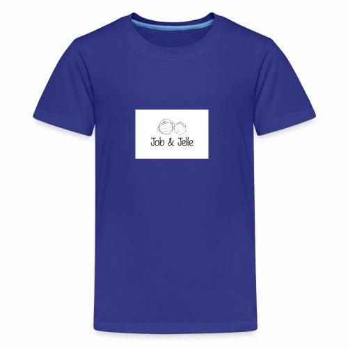 Job & Jelle   Logo - Teenager Premium T-shirt