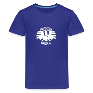 Logo Preussen TV Werl - Teenager Premium T-Shirt