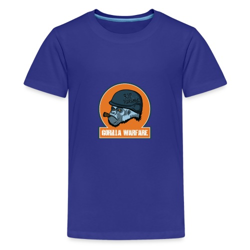 Gorilla warfare - Teenager Premium T-Shirt