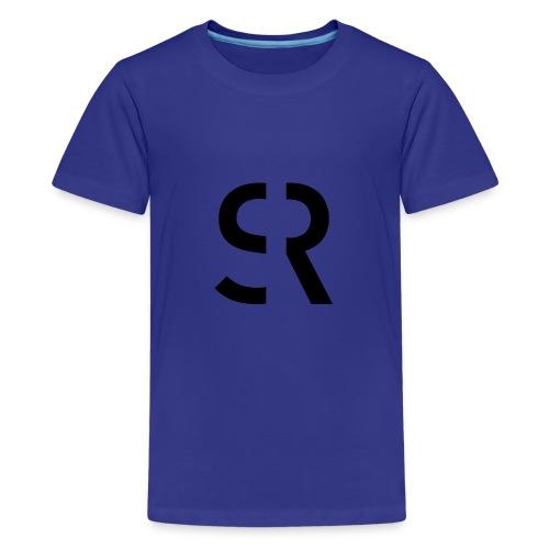 strandbarSR1schwarz - Teenager Premium T-Shirt