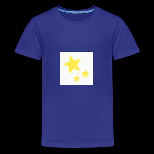 Dazzle Zazzle Stars - Teenage Premium T-Shirt