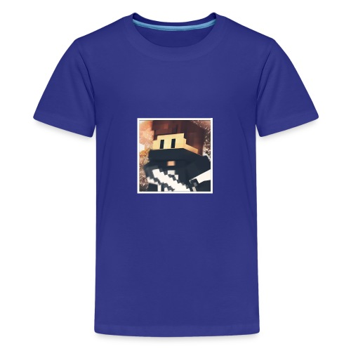 Minecraft logo - Teenager Premium T-Shirt