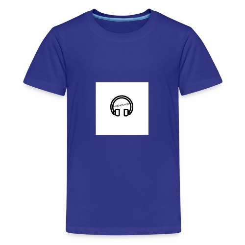 Headphones - Teenage Premium T-Shirt