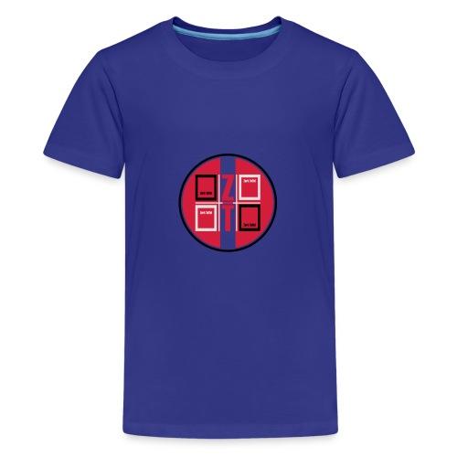 zork Toffel logo 017 - Teenager Premium T-Shirt