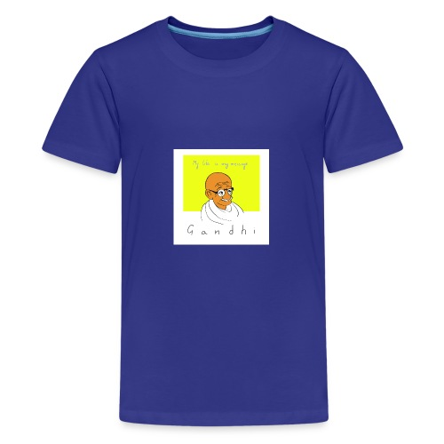 Gandhi - Teenager Premium T-Shirt