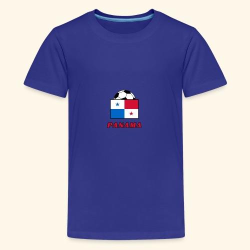 PANAMA national team design - Teenage Premium T-Shirt