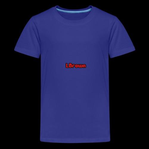 LBrown Merch - Teenage Premium T-Shirt