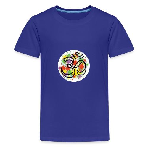 om - T-shirt Premium Ado