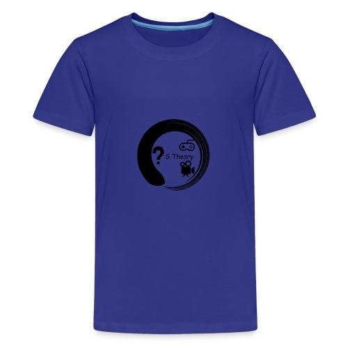 New G Theory Logo - Teenage Premium T-Shirt
