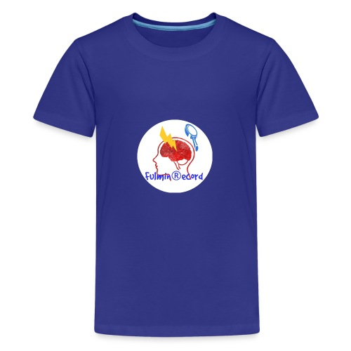 Fulmin Record - Maglietta Premium per ragazzi
