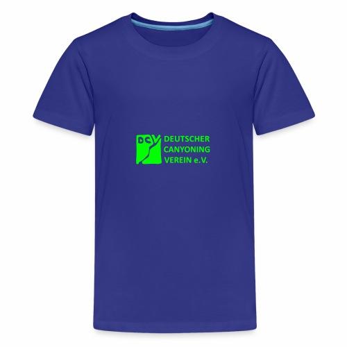 DCV Logo einfarbig - Teenager Premium T-Shirt