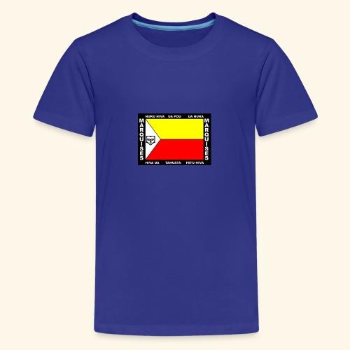 Drapeau des marquises - T-shirt Premium Ado