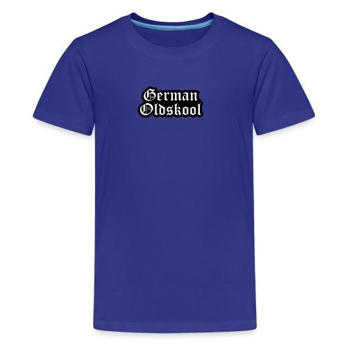 Grand Logo German Oldskool Official - T-shirt Premium Ado