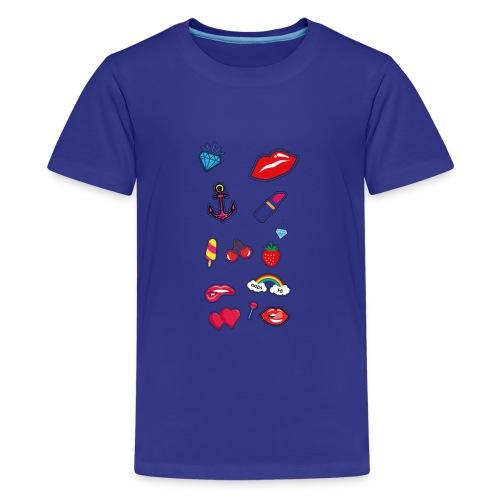 ecussons pop - T-shirt Premium Ado