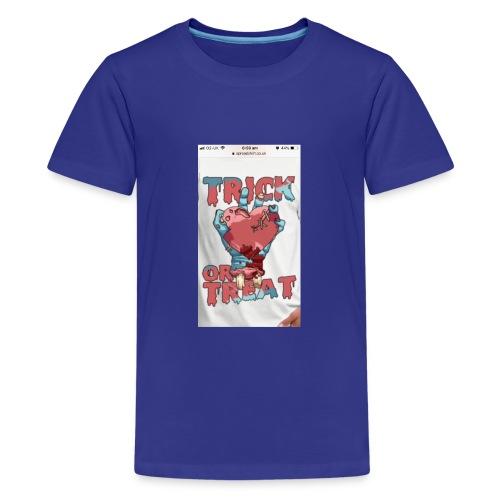 not far from halloween trick or treat - Teenage Premium T-Shirt