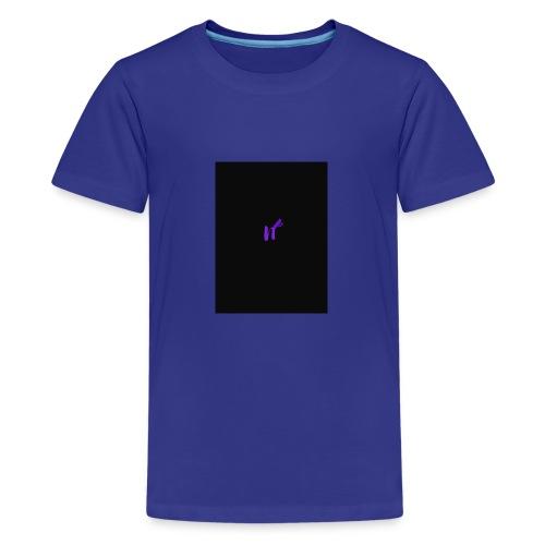purple funky - Premium T-skjorte for tenåringer