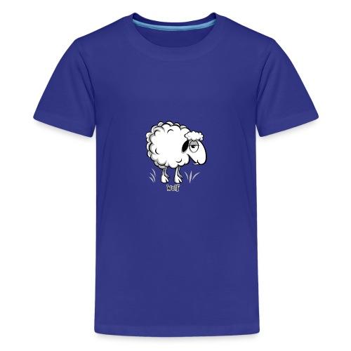 10-47 WOLF SHEEP- SUSI LAMMAS TUOTTEET - Teinien premium t-paita