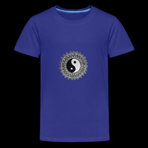 Yin und Yang - Teenager Premium T-Shirt