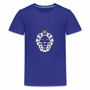 King Lion - Teenager Premium T-Shirt