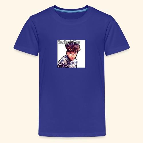 Sterling's Here - Teenage Premium T-Shirt