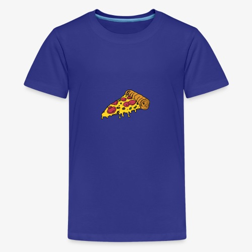 Brandon-B- PIZZA NIGHT - Teenage Premium T-Shirt