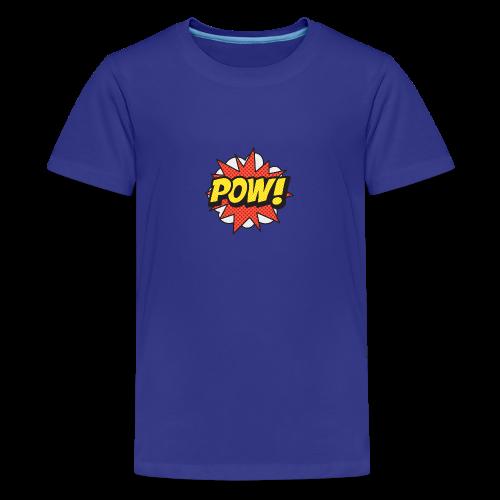 ONOMATOPOEIA. Pow! - Teenage Premium T-Shirt