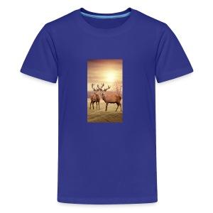 Hirschwiese - Teenager Premium T-Shirt