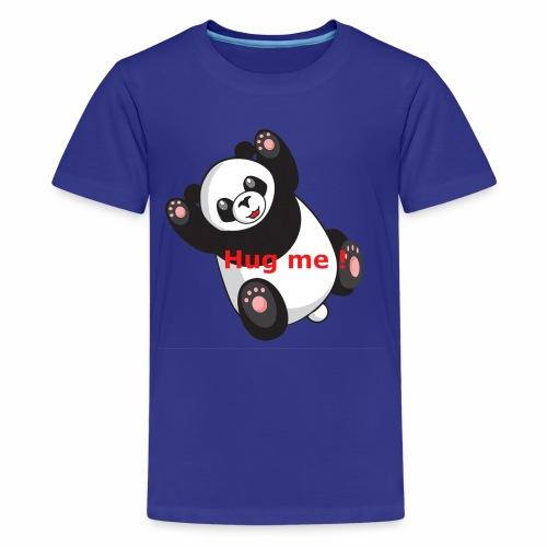 Panda Hug me - Teenager Premium T-Shirt