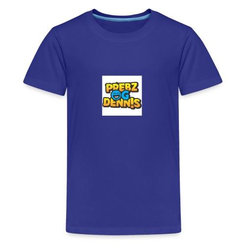 Prebz og dennis logo - Premium T-skjorte for tenåringer