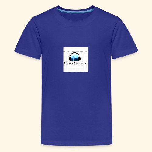 Crova Gaming Merch - Teenage Premium T-Shirt