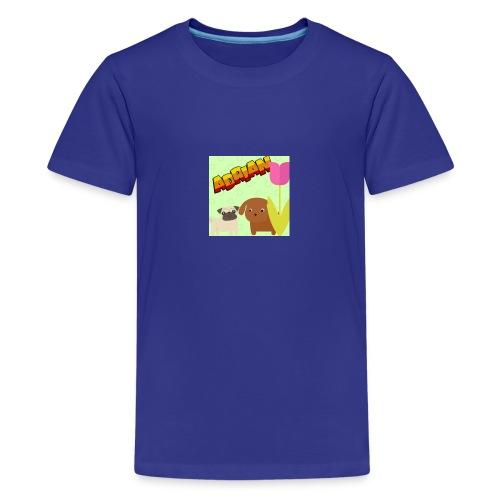 BABY og BARN - Premium T-skjorte for tenåringer
