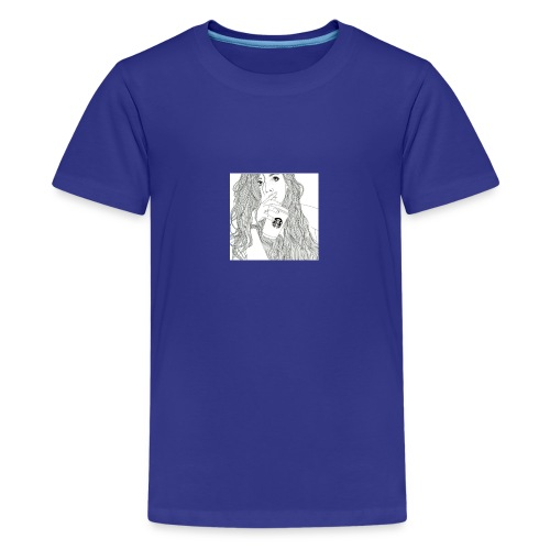 Girl - Teenager premium T-shirt