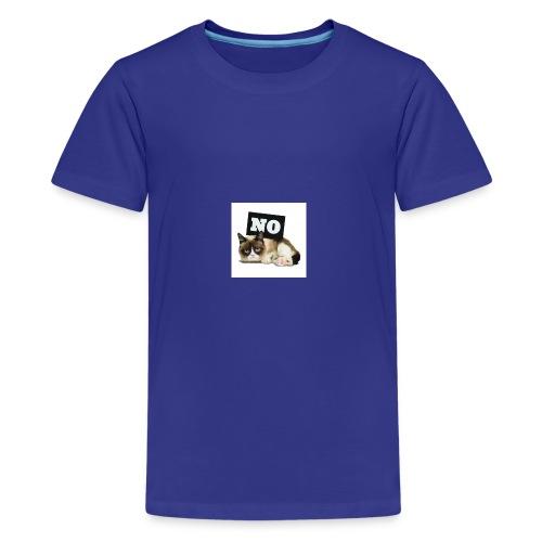 Crumpy Cat - Teenager Premium T-Shirt