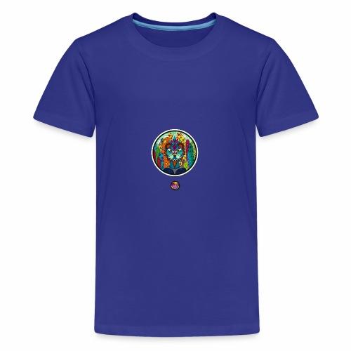 Le chat des colonnes bulleuses - T-shirt Premium Ado