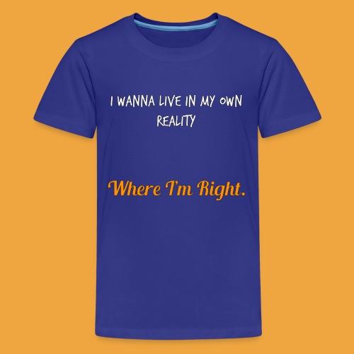 Quote 82 - Teenage Premium T-Shirt