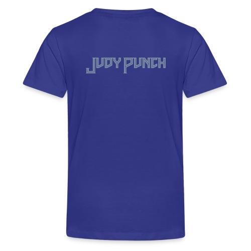 Judy Punch text - Teenage Premium T-Shirt