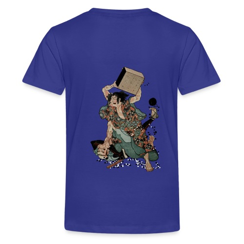 Sato Tadanobu with a goban - Teenager Premium T-shirt