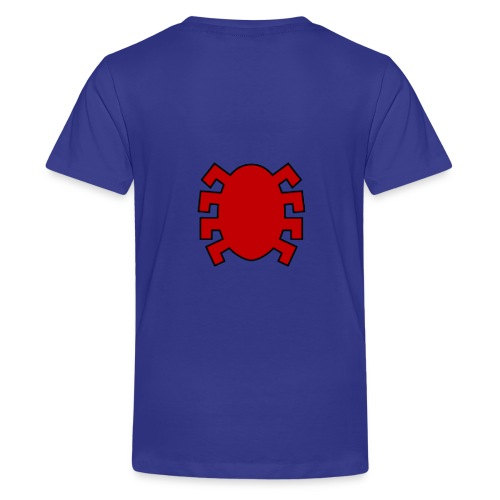 spiderman back - Teenage Premium T-Shirt