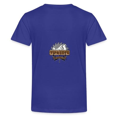 Logo Tipauste WoodWorking #1 - T-shirt Premium Ado