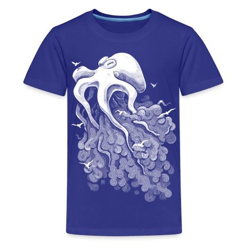 Deep Cloud - Teenage Premium T-Shirt
